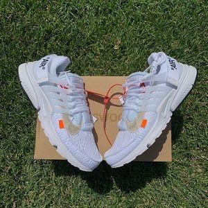 "Off White x Nike Air Presto ""White"""